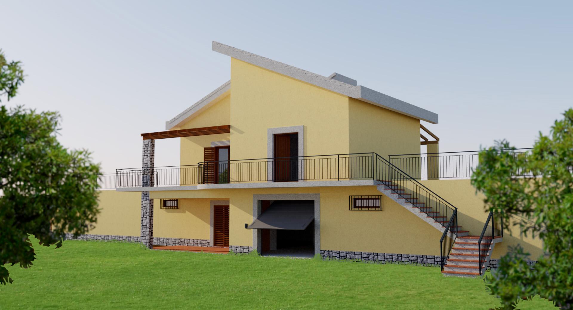 Progettazione di un immobile in messina zona nord for Piani di sauna seminterrato